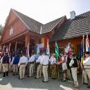 Vlajky a štandardy spolkov a samospráv účastných na 3 Zjazde Karpatskom.