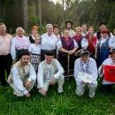 Zástupcovia slovenskej výpravy zo Zázrivej, Oravskej Polhory a mikroregiónu terchovskej doliny.