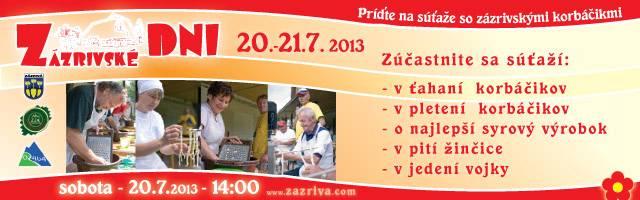 Zázrivské dni 2013