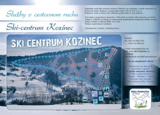 SKI - centrum Kozínec