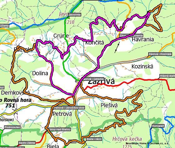 XII. ročník voľného prechodu na horských bicykloch okolo Zázrivej