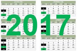 Harmonogram realizácie zberu odpadov pre rok 2017