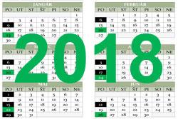 Harmonogram realizácie zberu odpadov pre rok 2018