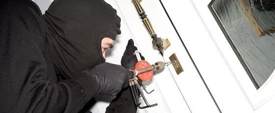Zvýšený počet krádeží v rodinných domoch