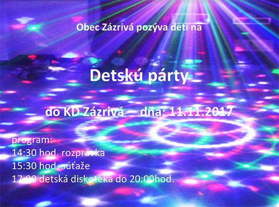 Detská párty