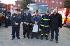 Posila našich dobrovoľných hasičov -  nové auto IVECO