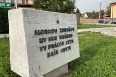 Rekonštrukcia pamätníka SNP v obci Zázrivá