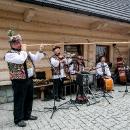Ja jarmoku bryndze vystúpili aj hudobné zoskupenia z rôznych krajín, na fotografii hudobníci z Rumunska.