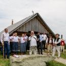 Pozdravenie účastníkov 3Zjazdu Karpatského starostom obce Zázrivá JUDr. Matúšom Mníchom.