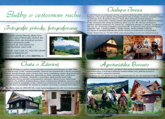 Fotografovanie prírody, fotografovanie. Chata v Zázrivej, Chata Terezka. Agroturistika Borončo.