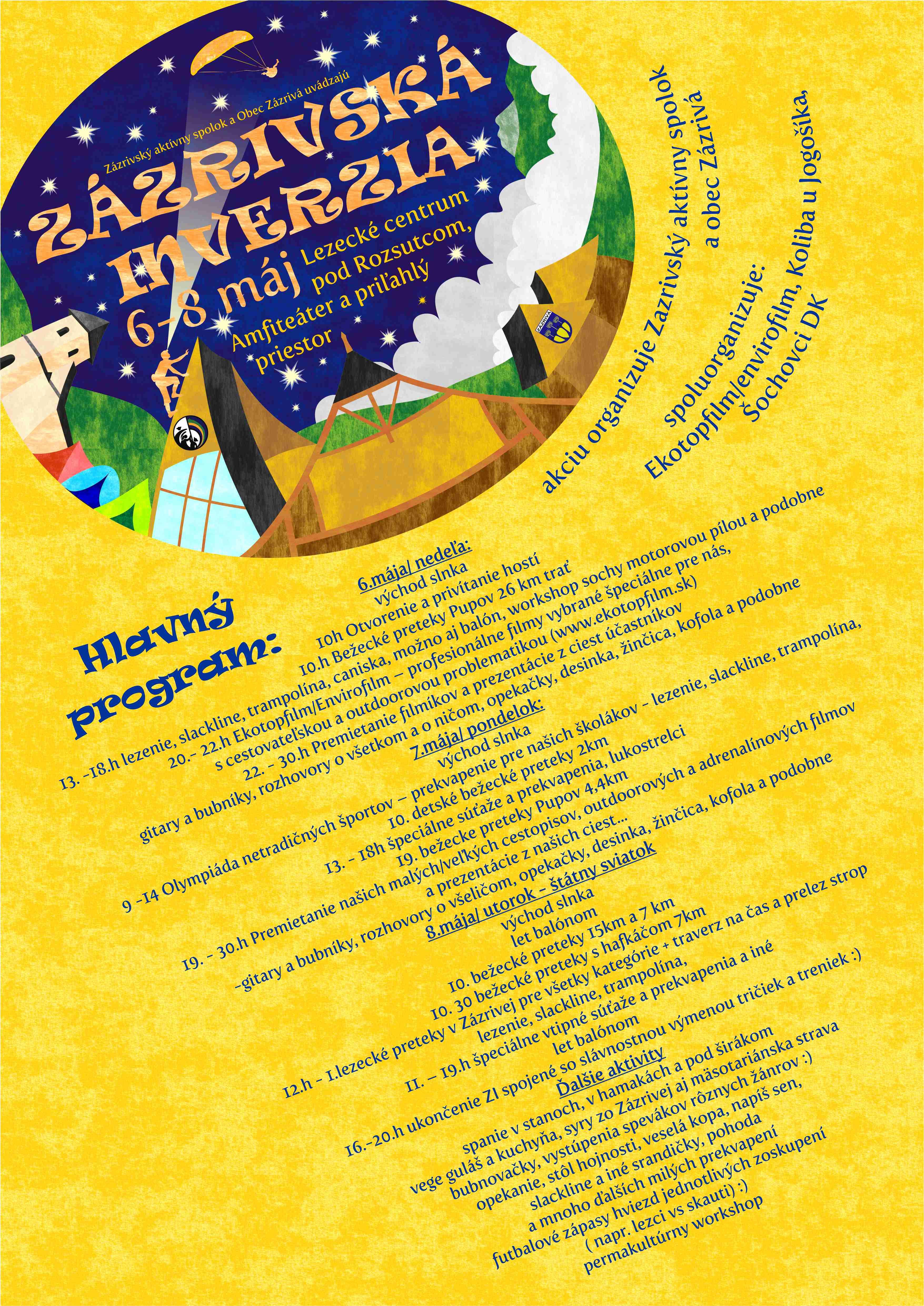 Zazrivska Inverzia program 2018
