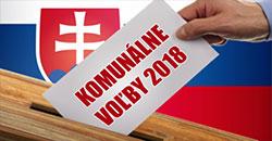 Voľby samosprava 2018