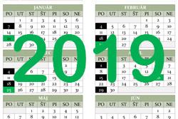 Harmonogram realizácie zberu odpadov pre rok 2019