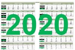 Harmonogram realizácie zberu odpadov pre rok 2020