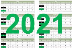 Harmonogram realizacie zberu odpadov pre rok 2021